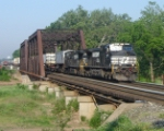 It is 8:07 as NS 212 heads east over CR's Shared Assets Lehigh Line